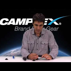 Camplex OPTIEYE Shutter Restraint for Neutrik OpticalCON Cable End Connector Inspection & Cleaning