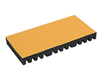 CMX-SPTR-12 12 Position Fiber Plastic Splice Board with Peel and Stick Backing