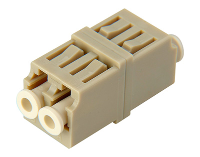 FOA-LC-LC-DM LC to LC Multimode Duplex Fiber Optic Coupler Adapter Bronze Sleeve