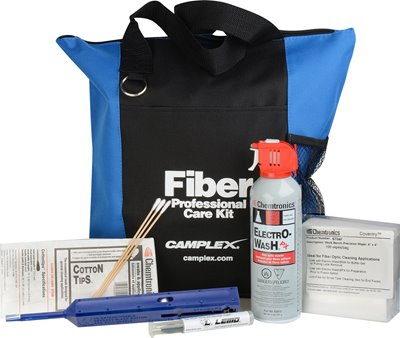FIBERCLEAN-1 Fiber Optic Cleaning Kit for LEMO SMPTE 304/311M Hybrid Connectors