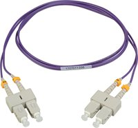 Camplex MMD50-LC-LC-001 Fiber Optic Patch Cables Multimode Duplex LC to LC Fiber