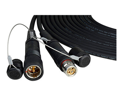 Camplex HF-FUWPUW Camera Cables with LEMO SMPTE Fiber Connectors