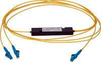 Camplex Single Mode Multimode LC Fiber Optic 1x2 Splitter Cable- 1 Foot
